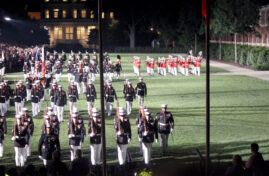 Marine Barracks Friday Evening Parade