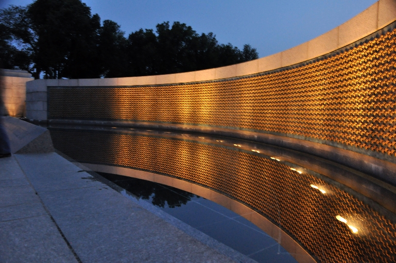 National World War II Memorial Gold Stars