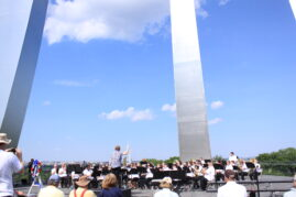 Band Performance at the U.S. Air Force Memorial