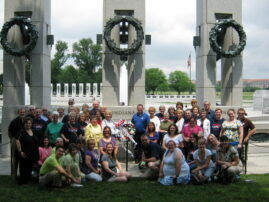 Visiting Choir at the National World War II Memorial