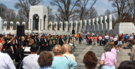 World War II Memorial Choir Performance